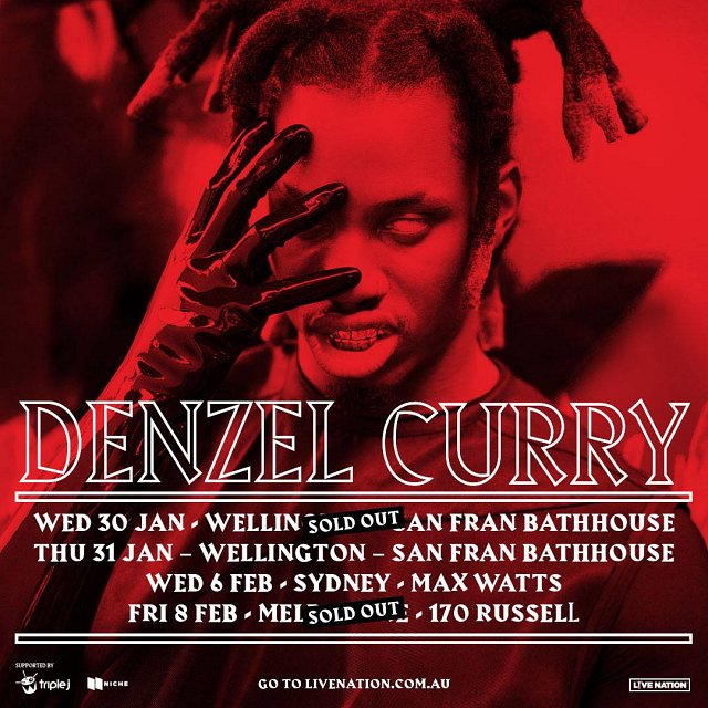 Denzel Curry - Second Show Added!
