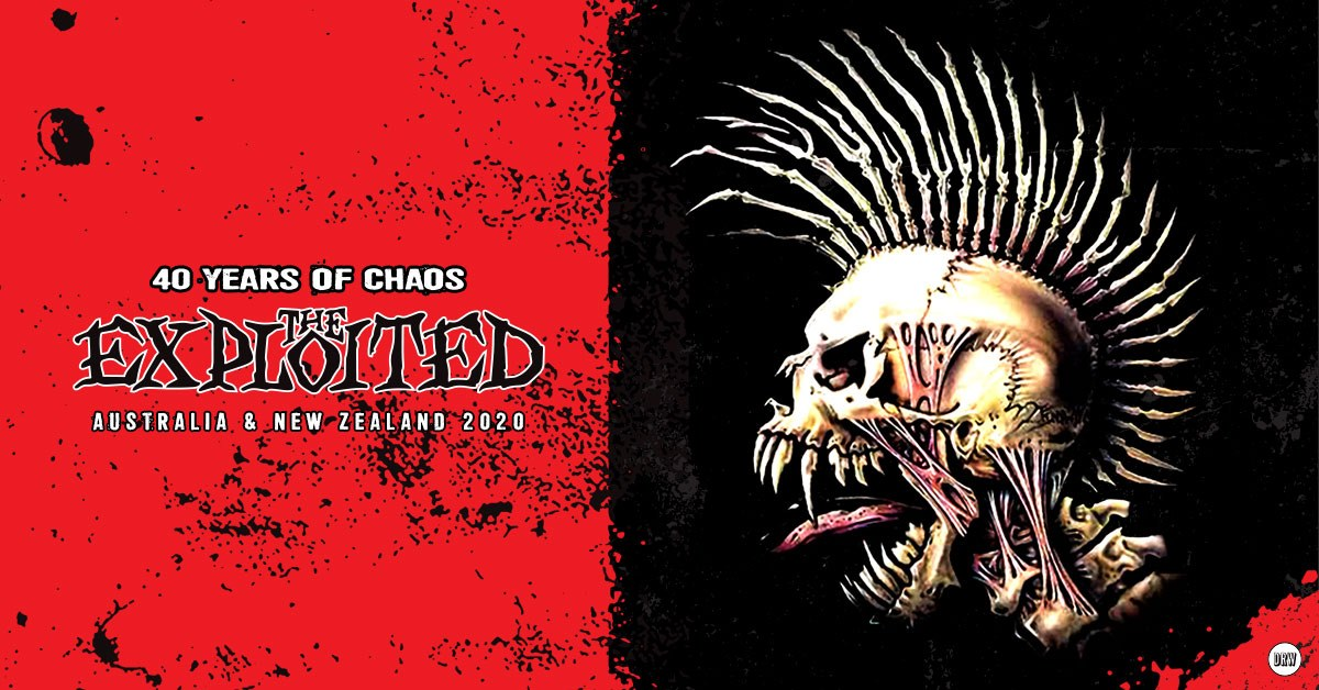 The Exploited - 40 Years Of Chaos