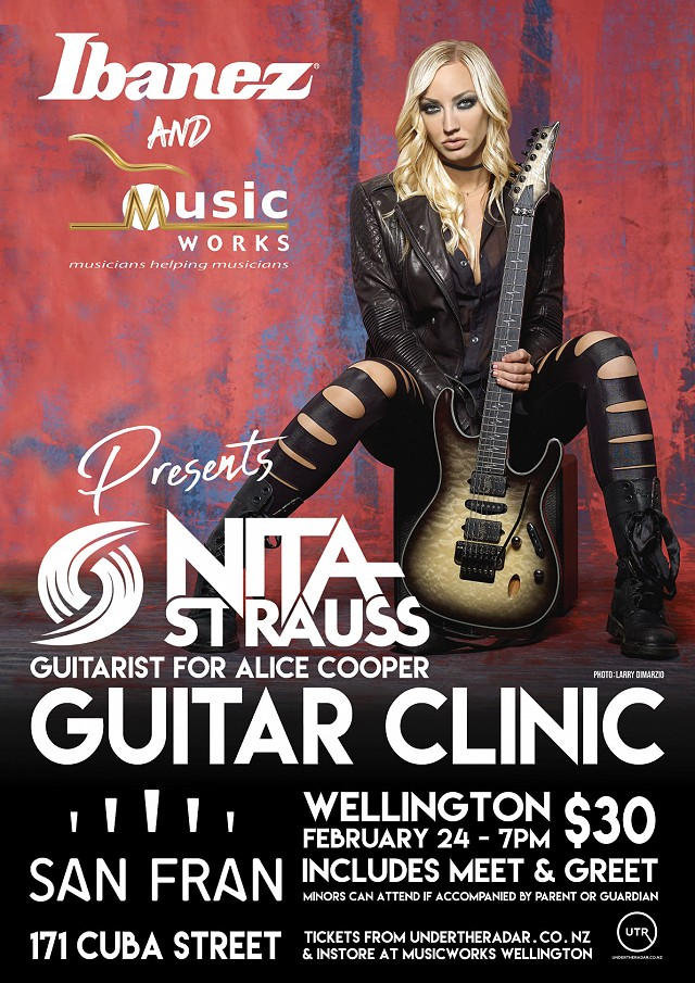 Nita Strauss Guitar Clinic