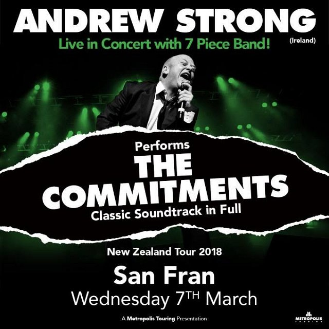 ANDREW STRONG (Ireland) performing THE COMMITMENTS classic soundtrack