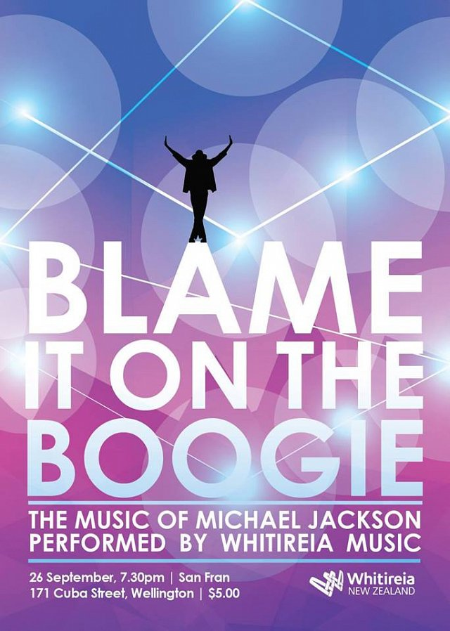 Blame It On The Boogie: The Music of Michael Jackson