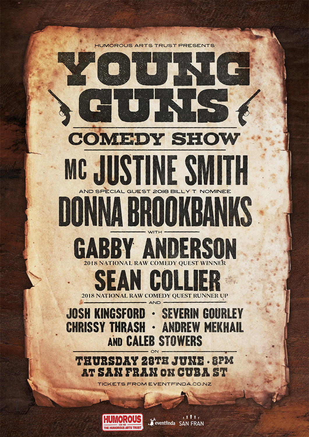 Young Guns Comedy Show